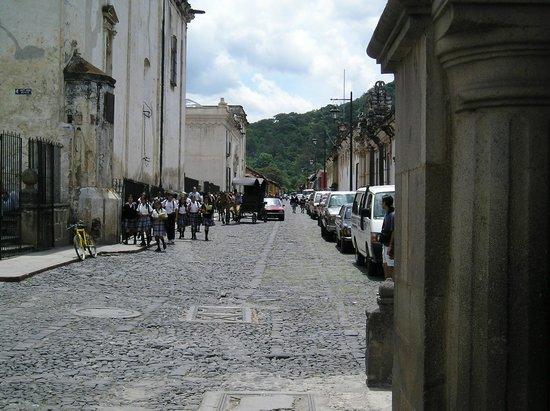 Hotel Posada de Don Rodrigo: calles de la Antigua