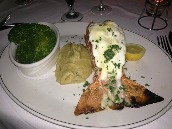 Truluck's Seafood, Steak and Crab House: lobster tail