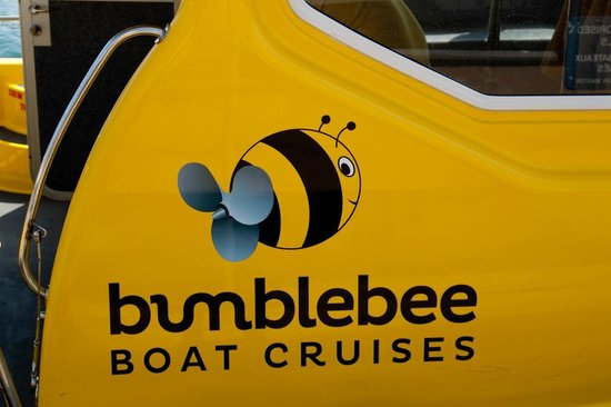 Bumblebee Boat Cruises: Cute logo!