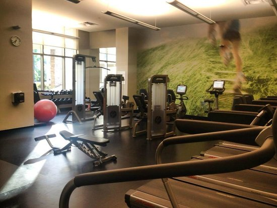 Westin Tampa Bay: Workout Room Awesome!