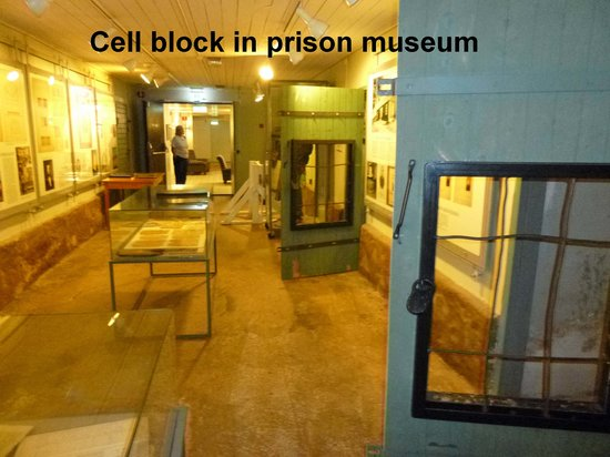 Clarion Collection Hotel Bilan : Cell block in hotel's prison museum