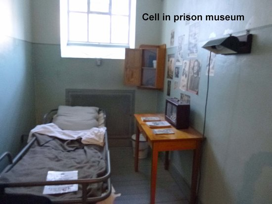 Clarion Collection Hotel Bilan : Inmates cell in museum