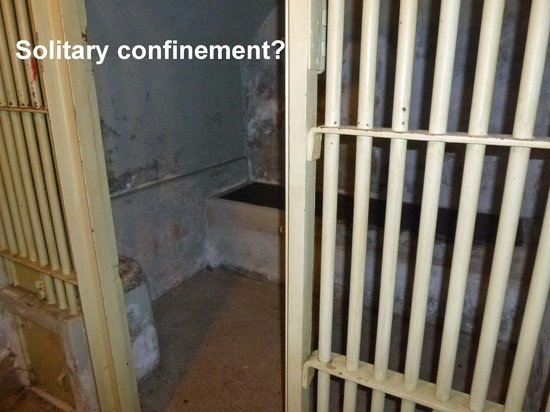 Clarion Collection Hotel Bilan : Solitary confinement?