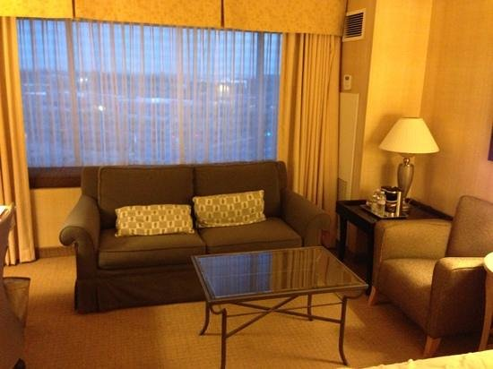 Hilton Santa Clara: sitting area