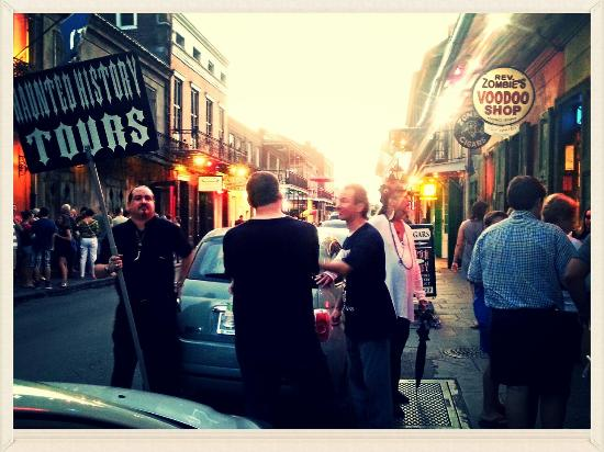 Photo of Haunted History Tours of New Orleans taken with TripAdvisor City Guides