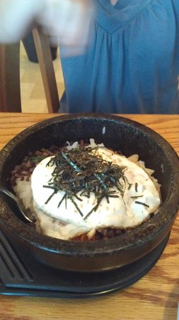 Wasabi Sushi Restaurant : Korean rice and beef bowl