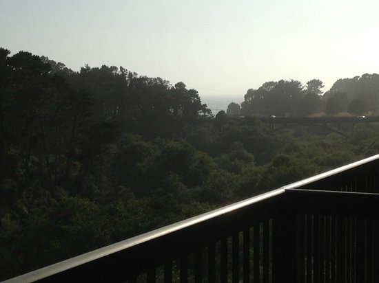 Holiday Inn Express Fort Bragg: balcony view