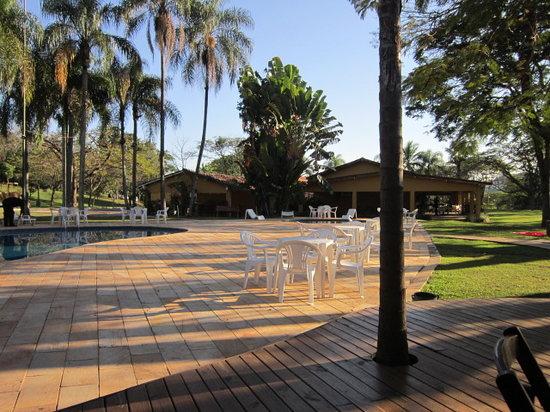 Jaguariuna, SP: Deck, piscina