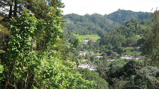 Mayan Inn: Hills around Chichicastenango