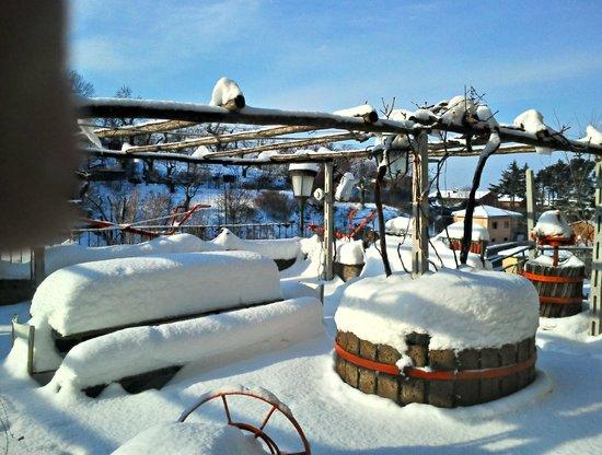 La Torre di Luca: neve