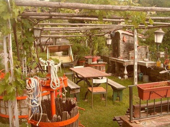 La Torre di Luca: giardino