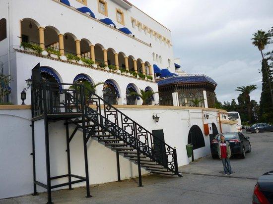 El Minzah Hotel: Parte trasera