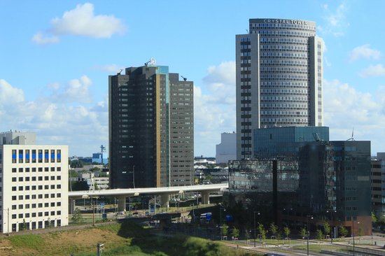 Amsterdam ID Aparthotel: Вид из Окна