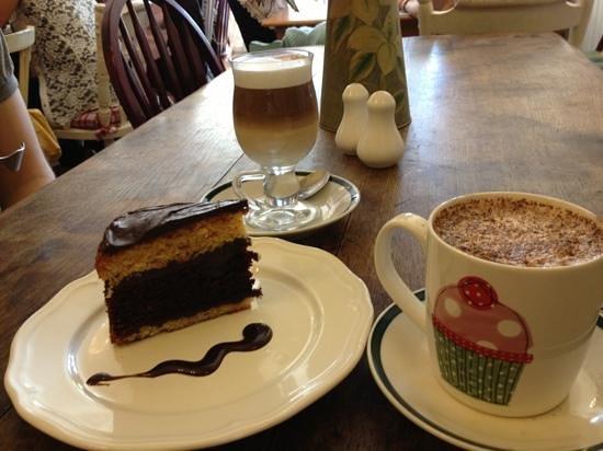 Frieda's Tearoom: chocolate orange cake