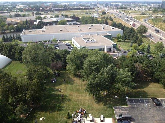 Hilton Mississauga/Meadowvale: Nice area to get outside.