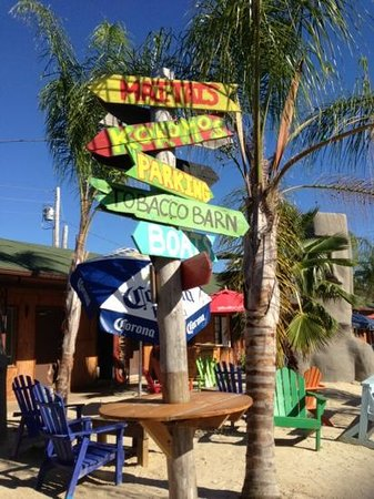 The Tiki Bar: sign to all the Tiki offerings