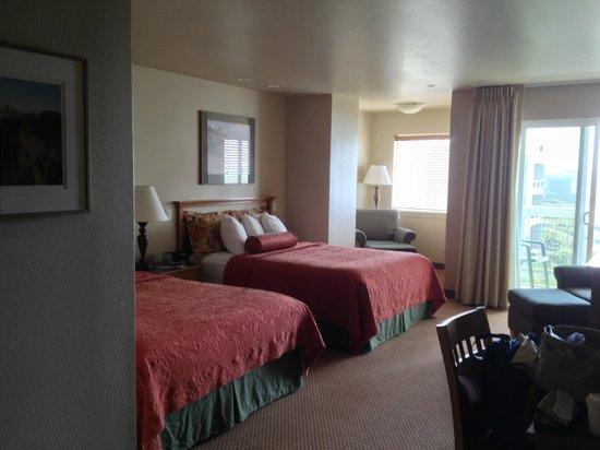 Overleaf Lodge & Spa: queen/queen room
