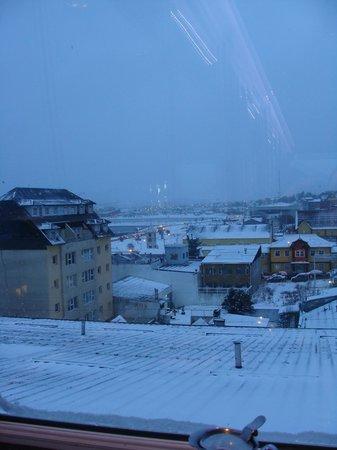 Lennox Hotels Ushuaia: Vista desde el desayuno