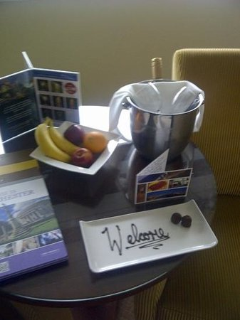 Macdonald Manchester Hotel & Spa: what a welcome