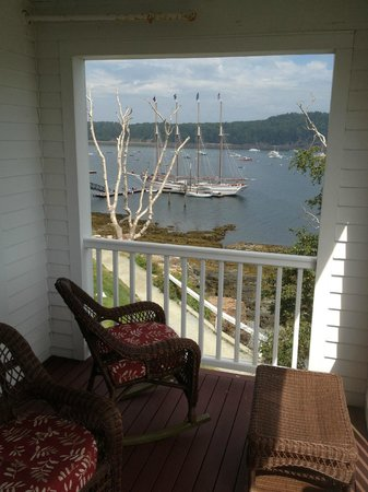 Excellent View From Room 221 Picture Of Bar Harbor Inn Tripadvisor Download Free Architecture Designs Scobabritishbridgeorg