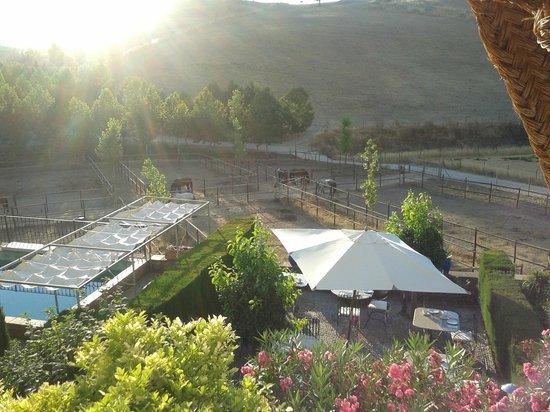 Hotel  Alavera de los Baños: View from room
