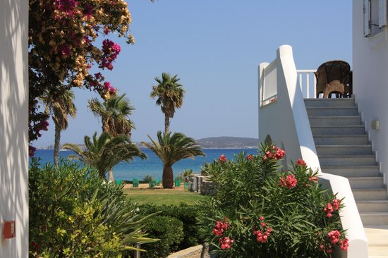 Astir of Paros: View of the bay from outside our room