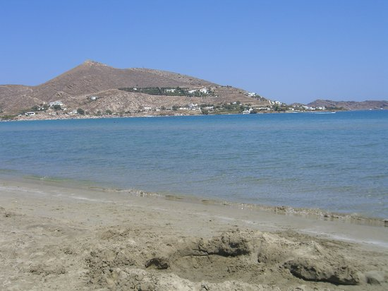 The view from the Beach at Astir of Paros