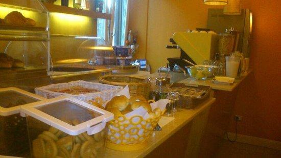 Hotel Perseo : alimentos desayuno