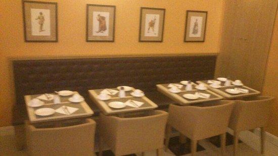 Hotel Perseo: Comedor: Muy pequeño