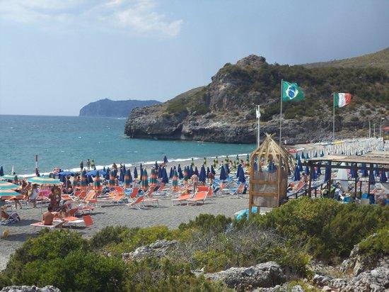 Villaggio La Perla : La fantastica spiaggia di Capogrosso
