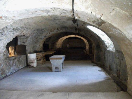Fort de Bellegarde : Kitchens and ovens