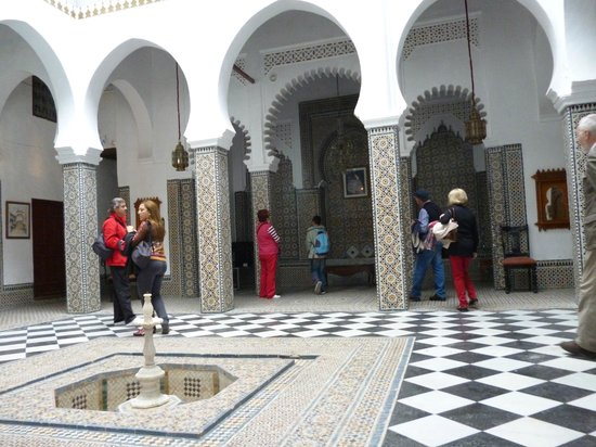 Medina of Tétouan: Patio palacio dieciochesco