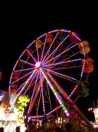 State Fairgrounds Minnesota: Midway Lights