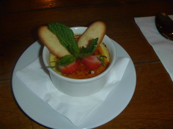 The Mill at Rode: Vanilla Creme Brullee