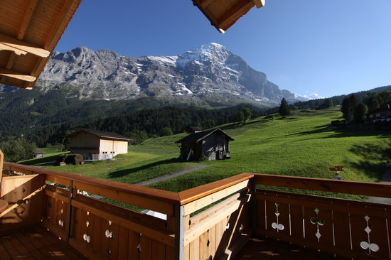 Aspen Alpin Lifestyle Hotel Grindelwald : View from our Room! Priceless!