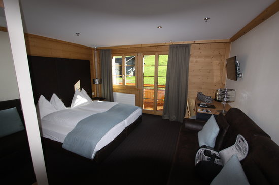 Aspen Alpin Lifestyle Hotel Grindelwald: Our Room