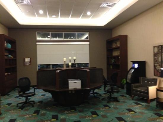 Drury Plaza Hotel San Antonio North Stone Oak: an Internet area ... sweet