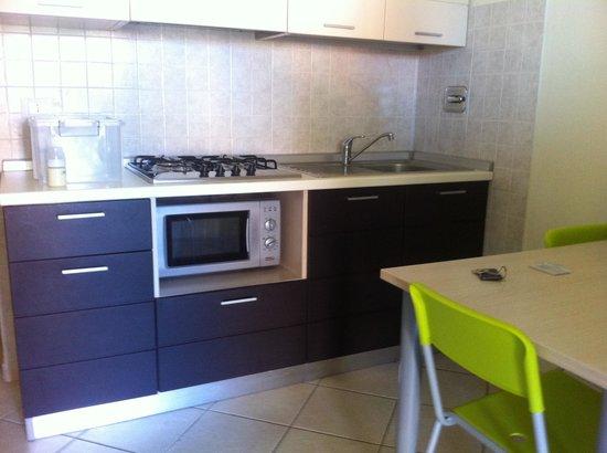Residence Rosa dei Venti: Cucina