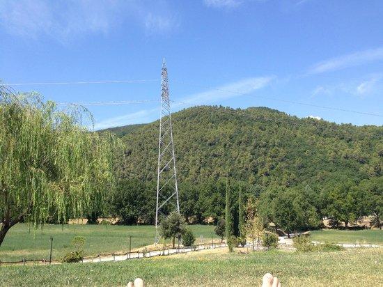 Valle Rosa: Panorama dalla piscina