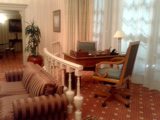 Moscow Marriott Grand Hotel : Suite Presidencial