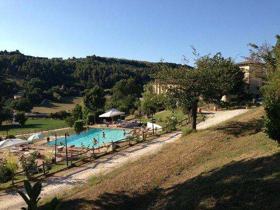 Valle Rosa: La zona piscina
