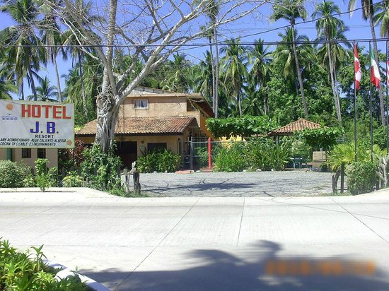 Hotel J.B.: FACHADA DEL HOTEL