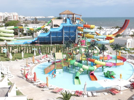 Thalassa Sousse Resort & Aquapark: waterpark