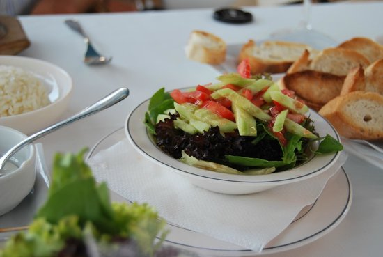 Mahperi Restaurant: salade composée