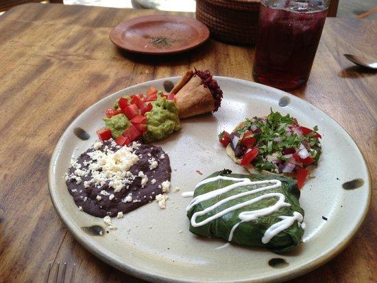 apetizer - La Biznaga Oaxaca