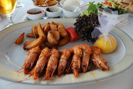Mahperi Restaurant: karides