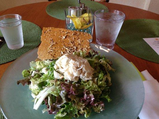 The Ritz-Carlton Orlando, Grande Lakes: Blue crab salad will change your life-Get it!
