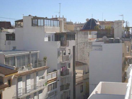 Hotel Rocamar: vistas de la iglesia
