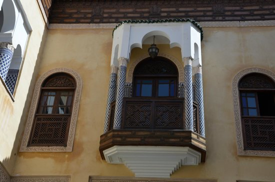 Riad Salam Fes: sul cortile