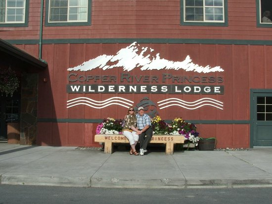 Copper River Princess Wilderness Lodge: A great place to relax prior to our excursion to Prince William Sound.